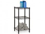 $31 off Honey-Can-Do SHF-02218 3-Tier Steel Wire Shelving Tower