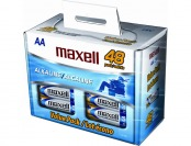 $8 off Maxell 48-Pack AA Alkaline Batteries