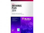 85% off McAfee AntiVirus Plus 2014 - 3 PCs