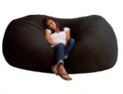 22% off XXL 7' Fuf Comfort Suede Bean Bag, Multiple Colors