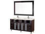 "$802 off Design Element DEC096 Cambridge 61"" Marble Vanity"