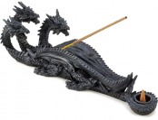 93% off Triple Head Mythical Dragon Figure Incense Stick Burner