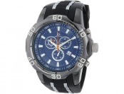 $368 off Joshua & Sons Men's JS50BK Swiss Chronograph Watch