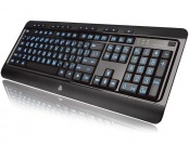 43% off Azio KB505U Large Print Tri-Color Backlit Wired Keyboard