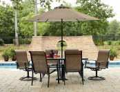 40% off Garden Oasis Harrison 7 Piece Patio Dining Set