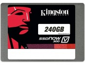 "74% off Kingston SSDNow V300 2.5"" 240GB SSD, SV300S37A/240G"