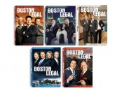71% off Boston Legal Season 1-5 Complete DVD Collection