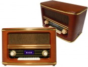 $105 off Wolverine RSR100 Retro Bluetooth Speaker & AM/FM Radio