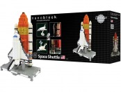 $70 off Nanoblock Deluxe Space Shuttle, 1600+ Pieces