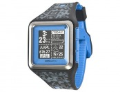 78% off MetaWatch iPhone & Android STRATA Watch, Blue/Camo