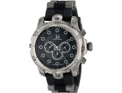 87% off Joshua & Sons Men's JS71BK Swiss Quartz Black Watch