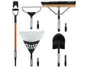50% off Lawn and Garden 5-Piece Tool Set with Storage System