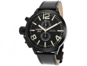 83% off U-Boat 7250 Men's Left Hook IFO Leather Watch