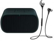 37% off Ultimate Ears Mini Boom BT Speaker & JayBird BT Earbuds