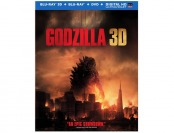 33% off Godzilla (Blu-ray 3D+ Blu-ray + DVD +UltraViolet Pack)