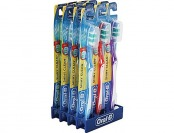 83% off Oral B Shiny Clean Soft Toothbrushes, 12 Pack