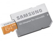 72% off Samsung EVO microSDXC 64GB Memory Card w/ Adapter