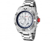 89% off Red Line RL-90008-22S Racer Silver Stainless Steel Watch