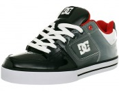 67% off DC Men's Pure Action Sports Shoes, Black/Red/White