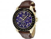 $630 off Invicta Men's Speedway Chronograph Blue Dial Watch