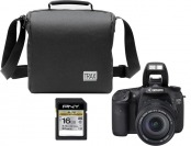 30% off Canon EOS 7D 18MP DSLR, Lens, Bag & 16GB Memory Card