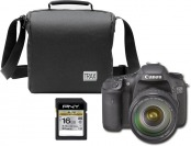 32% off Canon EOS 7D 18MP DSLR w/ 28-135mm Lens & Accessories
