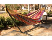 37% off Vivere 8ft. Combo Double Hammock with Stand