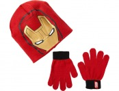 80% off Berkshire Boys Ironman Knit Hat and Glove Set