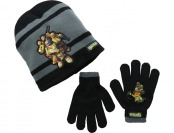 80% off Tennage Mutant Ninja Turtles Knit Hat and Glove Set