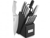 $73 off Cuisinart 15-Piece Stainless Steel Hollow Handle Knife Block Set