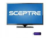 "55% off Sceptre 50"" 1080p LED HDTV w/ Roku Streaming Stick"