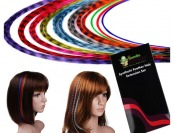 90% off Bundle Monster Feather Synthetic Hair Extensions Kit