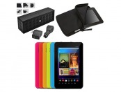 "Ematic 7"" 8GB Tablet with Bluetooth Speaker Kit and Sleeve"
