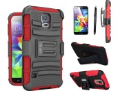 67% off Ashield Premium Kickstand Armor Rugged Galaxy S5 Case