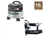 29% off Hitachi 18-Gauge Finish Nailer & 6 Gallon Compressor