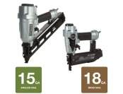33% off Hitachi 15-Gauge Angled Finish Nailer, 18-Gauge Finish Nailer