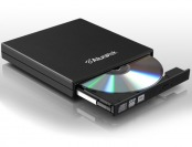 75% off Aluratek USB External Slim Multi-Format DVD Reader/Writer