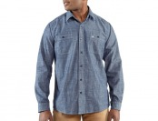 73% off Carhartt Linwood Solid Long Sleeve Work Shirt, 2 Styles