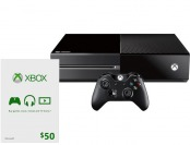 Free $50 Xbox Gift Card with Xbox One Console Purchase