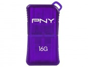 47% off PNY Micro Sleek Attache 16GB USB 2.0 Flash Drive - Purple
