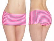 77% off COCO RAVE Juniors Cute Stripe Skirted Bottom