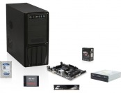 $75 off AMD 6600K Richland 3.9GHz Desktop Combo Kit