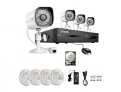 62% off Zmodo ZP-KE1H04-S-1TB 720p HD 4CH Security System