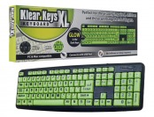 69% off Klear Keys XL Glow in the Dark & Spill Resistant Keyboard