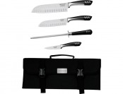 65% off Top Chef 5-Piece Knife Set with Nylon Carrying Case