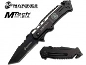 "72% off USMC Elite Tactical ""Semper Fi"" Rescue Folder Knife"