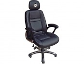 83% off NCAA Butler Bulldogs Leather Head Coach Office Chair