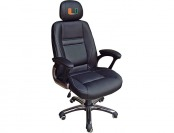 83% off NCAA Miami FL Hurricanes Leather Head Coach Office Chair