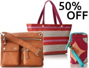 50% off Fossil Handbags, Wallets, Totes, and more