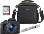 $50 off Canon EOS Rebel SL1 18MP DSLR Camera Kit w/ 18-55mm Lens